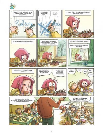 Page 3 Ernest et Rebecca tome 5 - l'école des bêtises