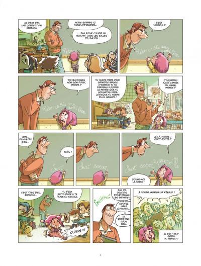 Page 4 Ernest et Rebecca tome 5 - l'école des bêtises