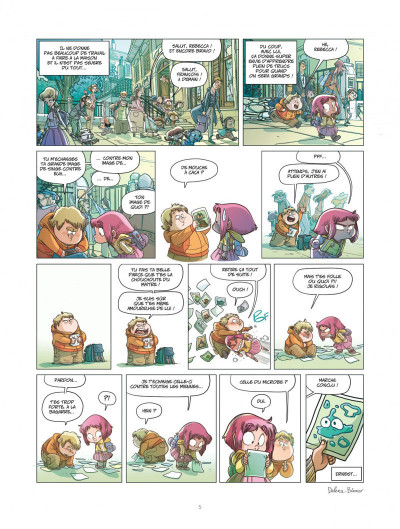 Page 5 Ernest et Rebecca tome 5 - l'école des bêtises