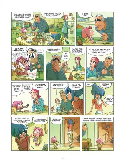 Page 9 Ernest et Rebecca tome 5 - l'école des bêtises