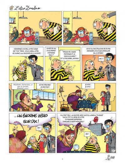 Page 8 l'élève Ducobu T.19 - Ducobu, élève modèle