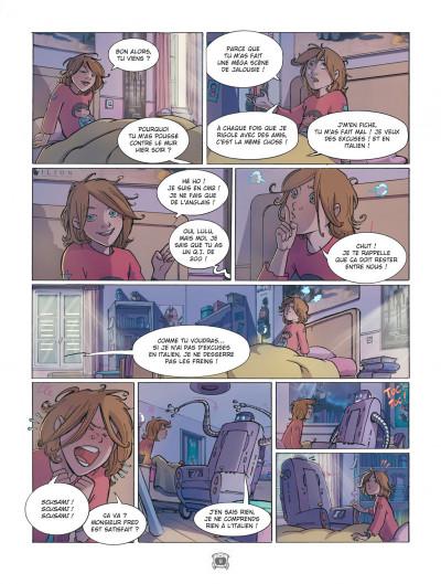 Page 8 Lulu et Fred tome 1 - une dent contre les mémés
