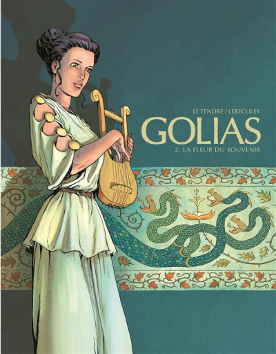Couverture Golias tome 2