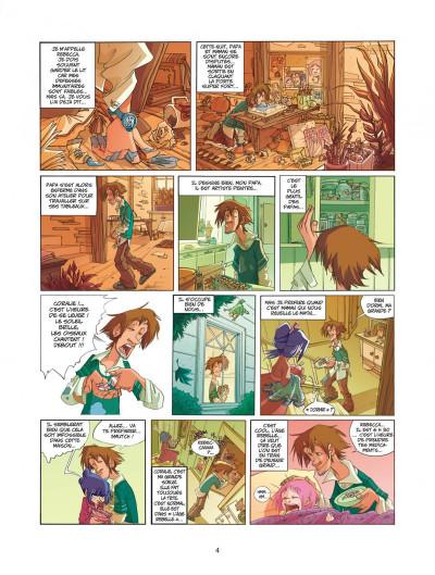 Page 4 Ernest et rebecca tome 1 mon copain est un microbe