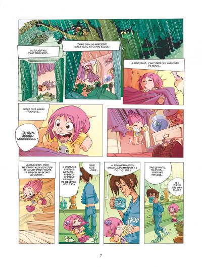Page 7 Ernest et rebecca tome 1 mon copain est un microbe
