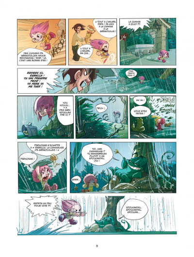 Page 9 Ernest et rebecca tome 1 mon copain est un microbe