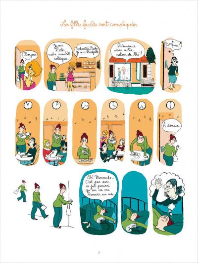 Page 3 Tea for two tome 1 - les filles faciles sont compliquées