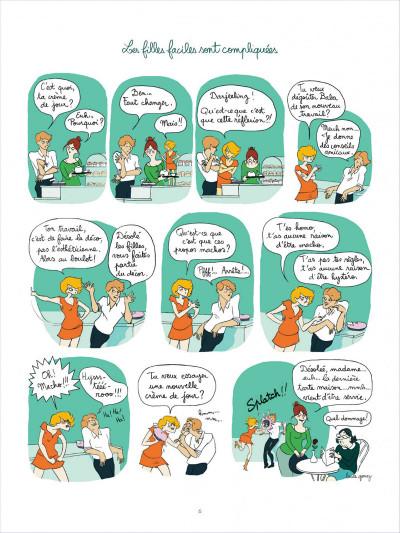 Page 6 Tea for two tome 1 - les filles faciles sont compliquées