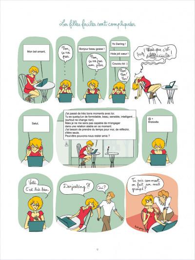Page 9 Tea for two tome 1 - les filles faciles sont compliquées