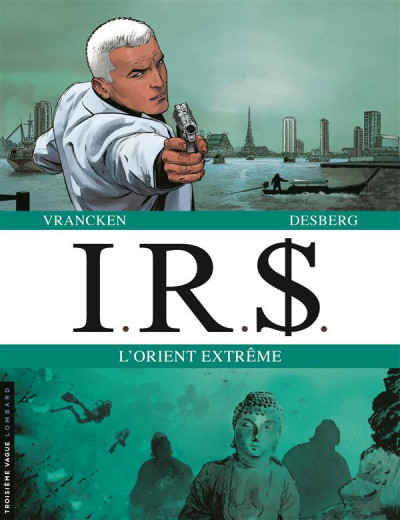 Couverture I.R.$. dyptique - l'orient extrême - tome 13 et tome 14