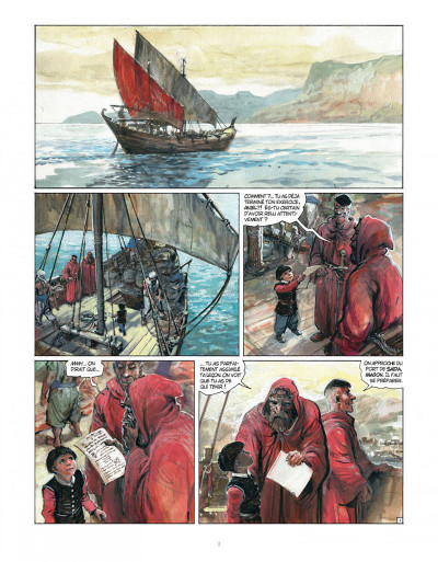 Page 2 Tirage de tête - Thorgal tome 34 - Kah-Aniel