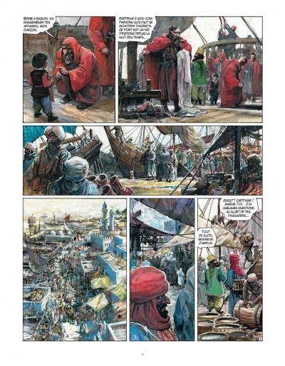 Page 4 Tirage de tête - Thorgal tome 34 - Kah-Aniel