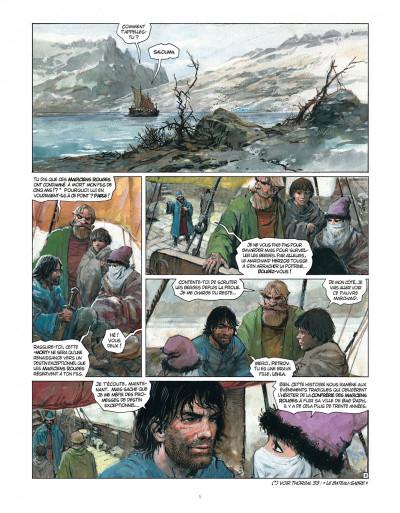 Page 5 Tirage de tête - Thorgal tome 34 - Kah-Aniel