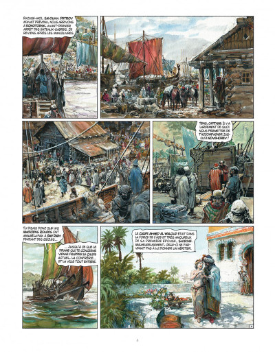 Page 8 Tirage de tête - Thorgal tome 34 - Kah-Aniel