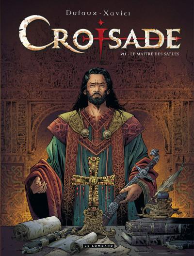 Couverture Croisade tome 7 - le maître des sables