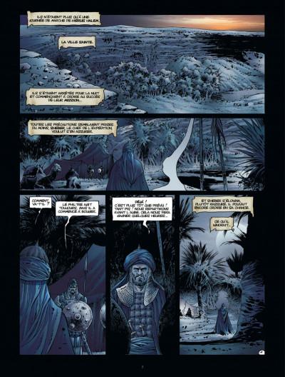 Page 3 Croisade tome 7 - le maître des sables