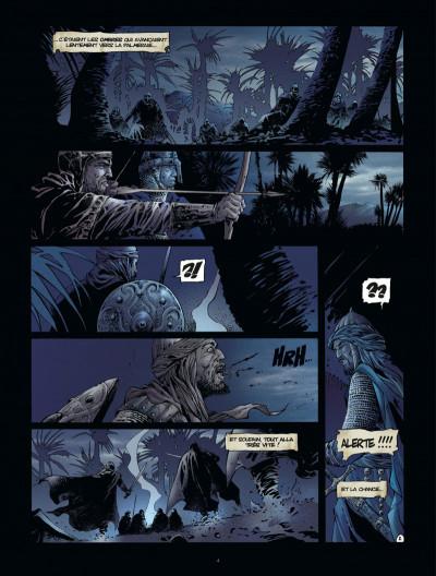 Page 4 Croisade tome 7 - le maître des sables