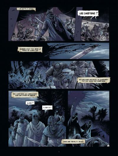Page 5 Croisade tome 7 - le maître des sables