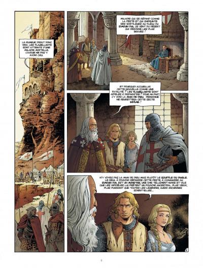 Page 8 Croisade tome 7 - le maître des sables
