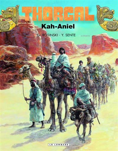 Couverture Thorgal tome 34 - Kah-Aniel (édition collector)