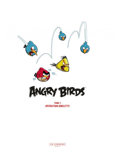 Page 1 angry birds tome 1 - opération omelette