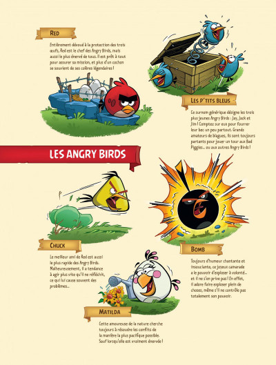 Page 4 angry birds tome 1 - opération omelette