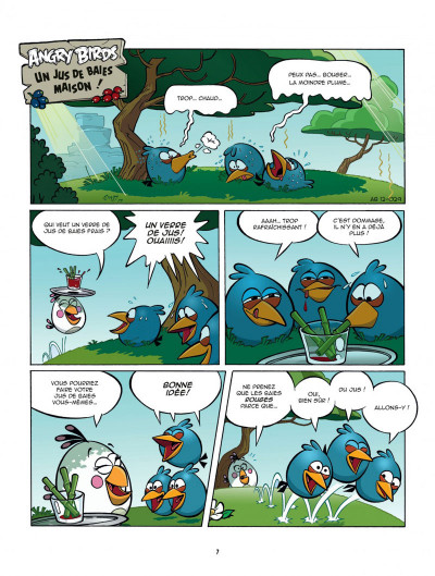 Page 7 angry birds tome 1 - opération omelette