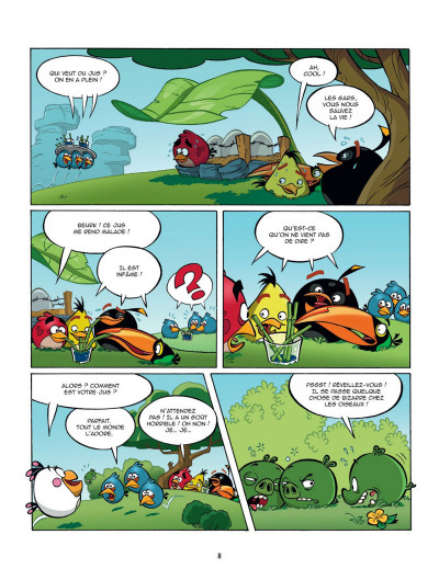 Page 8 angry birds tome 1 - opération omelette