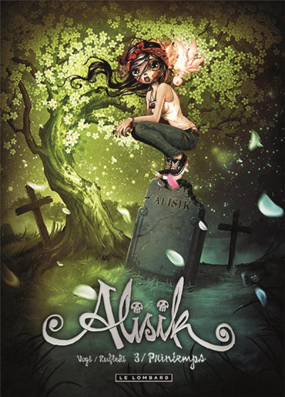Couverture Alisik tome 3 - printemps