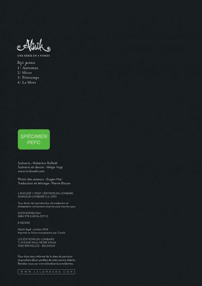 Page 2 Alisik tome 3 - printemps