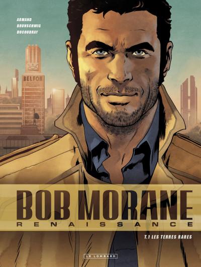 Couverture Bob Morane - renaissance tome 1