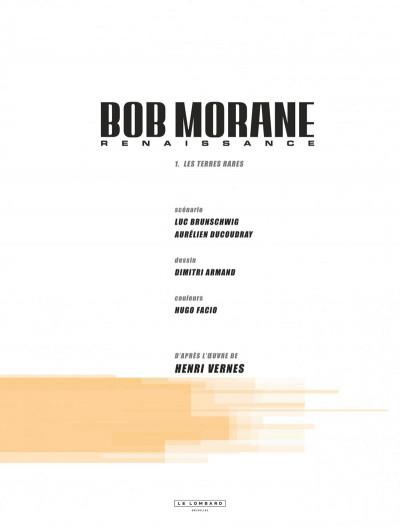Page 3 Bob Morane - renaissance tome 1