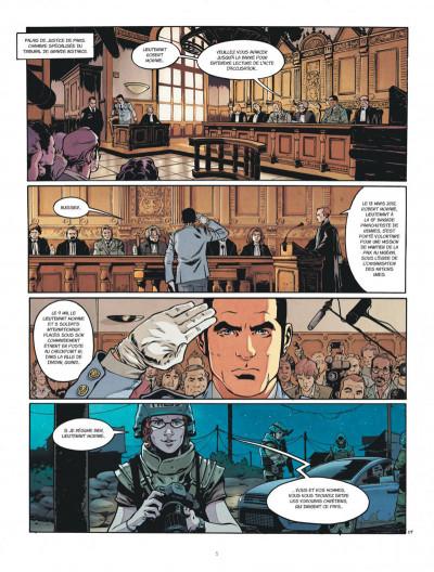 Page 5 Bob Morane - renaissance tome 1