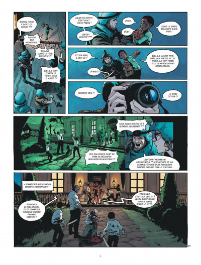 Page 8 Bob Morane - renaissance tome 1
