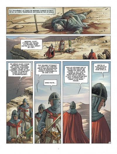 Page 3 Croisade tome 8 - Le Dernier Souffle