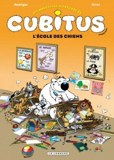 Couverture Les nouvelles aventures de Cubitus tome 9 - L'école des chiens
