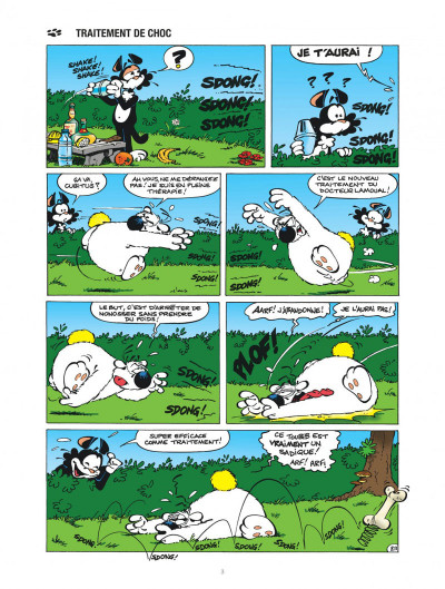 Page 3 Les nouvelles aventures de Cubitus tome 9 - L'école des chiens