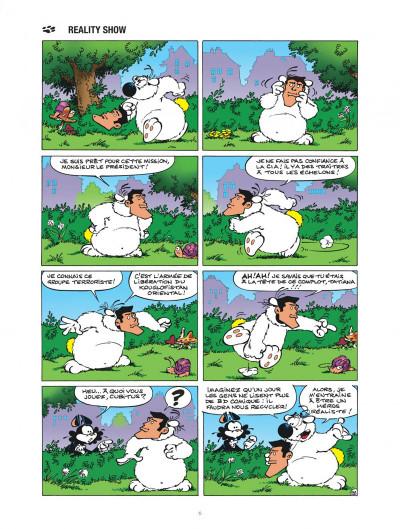 Page 6 Les nouvelles aventures de Cubitus tome 9 - L'école des chiens