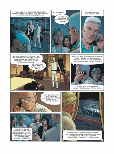 Page 7 I.R.$ team tome 4 - le dernier tir