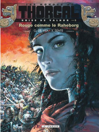 Couverture Les mondes de Thorgal - Kriss de Valnor tome 5