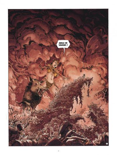 Page 3 Les mondes de Thorgal - Kriss de Valnor tome 5