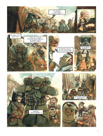 Page 7 Le chant du cygne tome 1