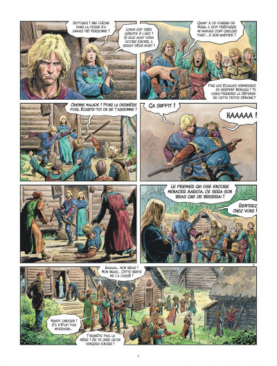 Page 6 Les mondes de Thorgal - Louve tome 4
