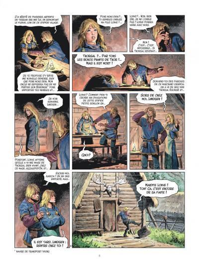 Page 8 Les mondes de Thorgal - Louve tome 4