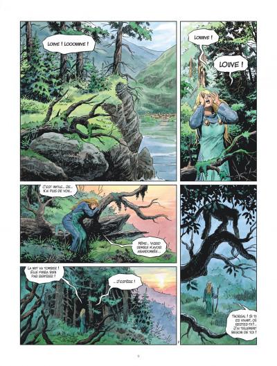 Page 9 Les mondes de Thorgal - Louve tome 4
