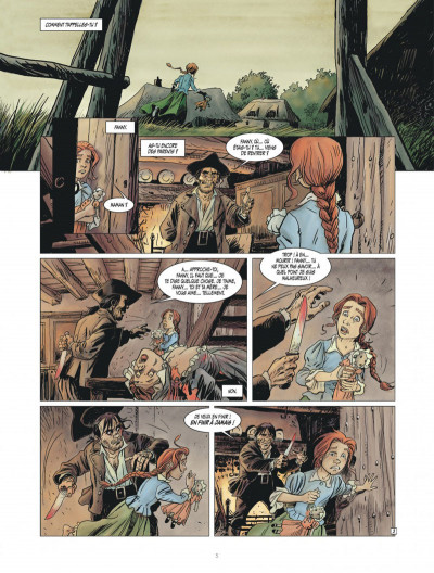 Page 5 Golden dogs tome 1