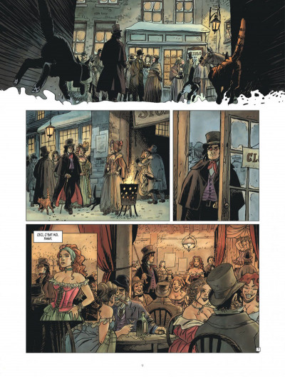 Page 9 Golden dogs tome 1