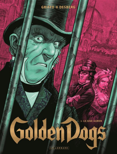 Couverture golden dogs tome 3 - le juge Aaron