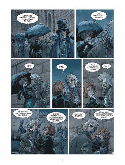 Page 4 golden dogs tome 3 - le juge Aaron