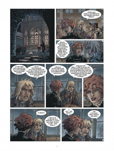 Page 5 golden dogs tome 3 - le juge Aaron